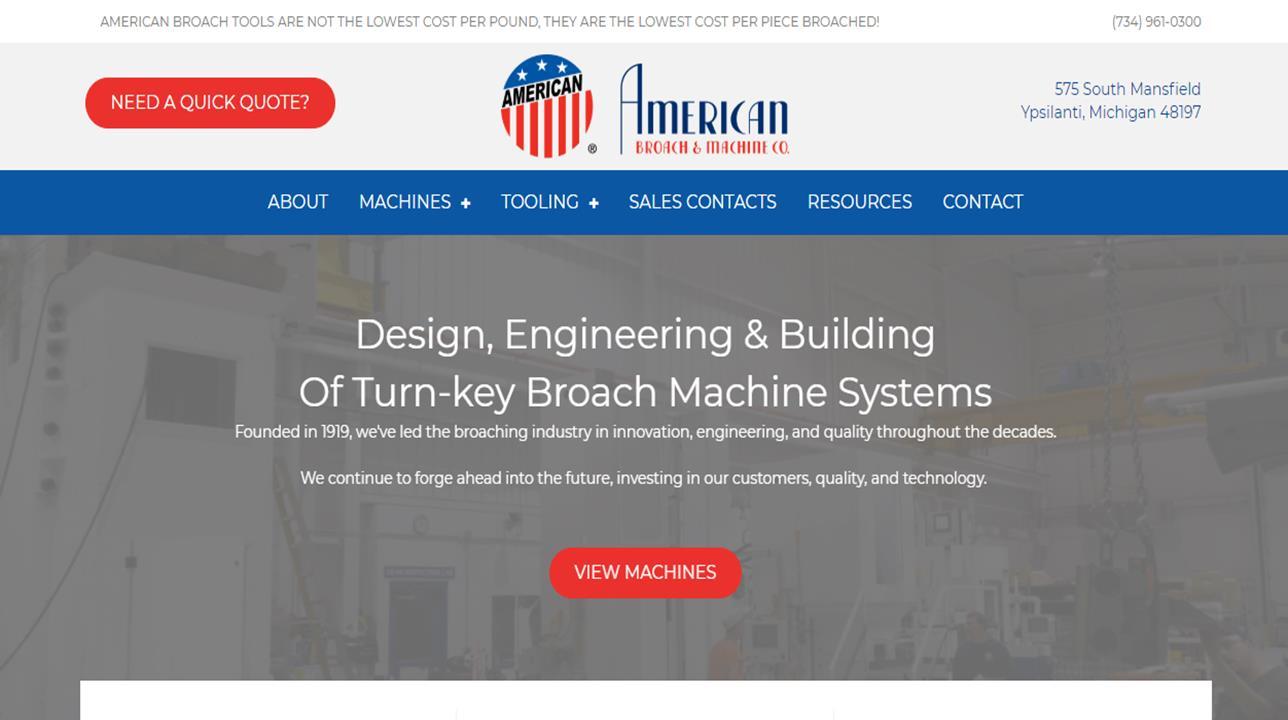 American Broach & Machine Company