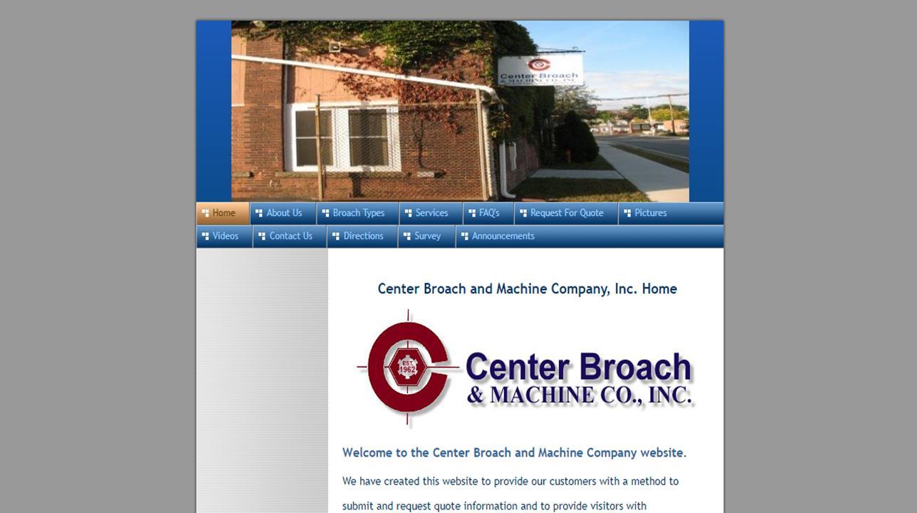 Center Broach & Machine Co., Inc.