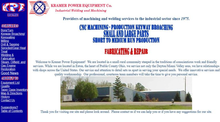 Kramer Power Equipment Co.