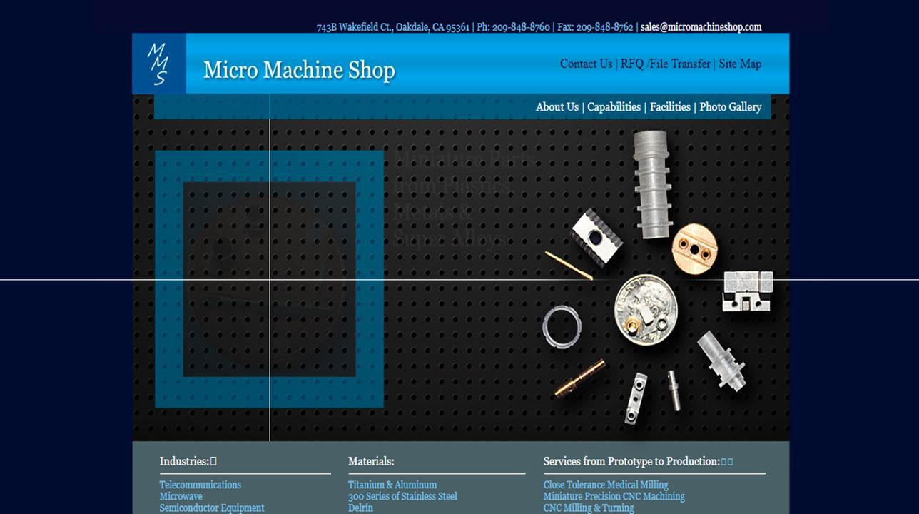 Micro Machine Shop