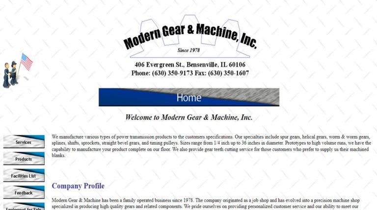 Modern Gear & Machine, Inc.