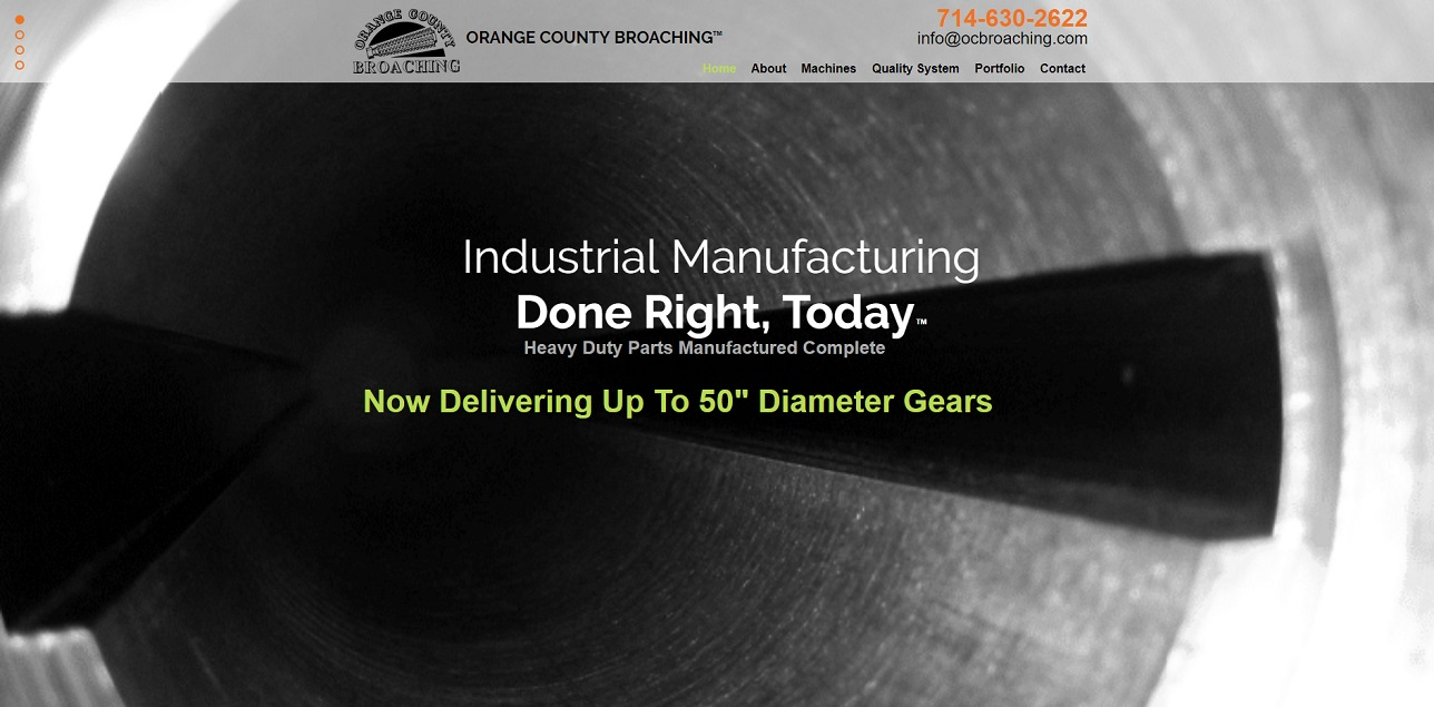 Orange County Broaching