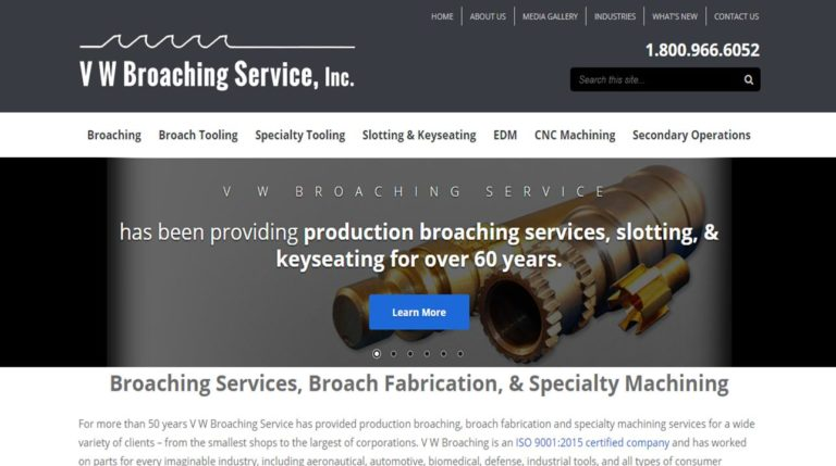 VW Broaching Service, Inc.