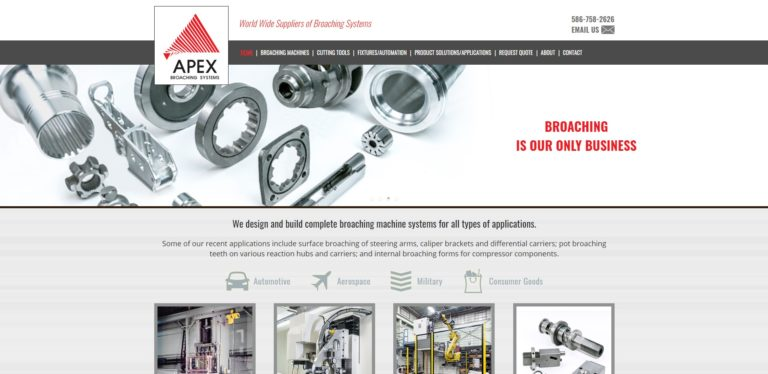 Apex Broaching Systems