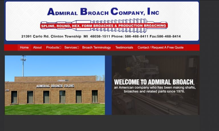 Admiral Broach Company